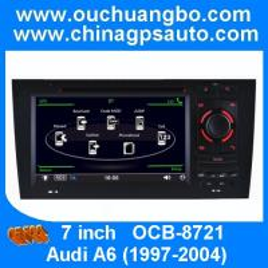 China Ouchuangbo gps navigation autoradio stereo DVD for Audi A6 1997-2004 with MP4 USB SD SWC on sale