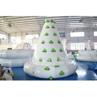 Buy cheap Kids Inflatable Water Sport , Large Inflatable Water Climbing Wall For Water Park from wholesalers