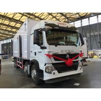 Buy cheap T5G 340HP Refrigerated FRP Sandwich Panels Box Truck for transport , Commercial Refrigerated Vans from wholesalers