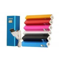 China Lipstick Shape External Battery Power Bank With Samsung 2600mAh Cell , DC 5V 1A on sale
