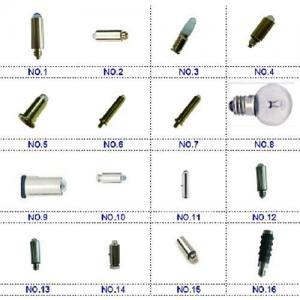 Buy cheap Fiberoptic laryngoscope bulb,Otosocpe bulb,Headlight bulb,ophthalmoscope bulb Heine&Welch Allyn product