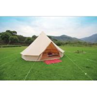 Buy cheap bell tent 3m/4m/5m/6m/7m/7.5m cotton canvas waterproof ZIG, zipper carrybag from wholesalers