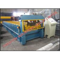 Buy cheap Colored Coated Hi Rib Roofing Sheet Metal Roll Forming Machines Thickness 0.3-0.7 mm from wholesalers