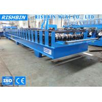 Buy cheap Roof Profiling Comflor Metal Deck Roll Forming Machine with Chain Driving product