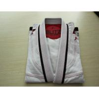 Buy cheap Custom made White Gi Brazilian Jiu Jitsu Martial Arts Clothing in All Size from wholesalers