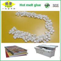 Buy cheap Thermo Glue Plastic EVA Hot Melt Adhesive / Hot Melt Glue Pellets from wholesalers