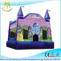 Buy cheap Hansel frozen castle inflatable princess bounce jumper bounce house for sale from wholesalers