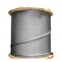 China 316L Stainless Steel Wire Rope Cable , Galvanized Steel Wire Rope 8-22MM Gauge on sale