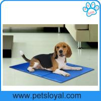 Buy cheap Re-useable self-cooling nontoxic dog cooling pad pet gel bed mat China Factory from wholesalers
