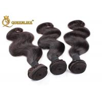 Buy cheap Single Dorwn 8 Inch / 10 Inch Brazilian Remy Human Hair Extensions Body Wave from wholesalers