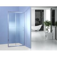 Buy cheap Fixed Glass Sliding Shower Door 700MM 90 Degree Magnetic Type Shower Surround Panels from wholesalers