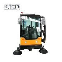Buy cheap road cleaning machine  mechanical sweeper machine ride on road sweeper from wholesalers