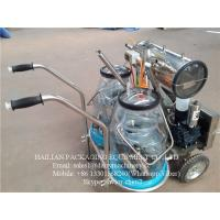 Buy cheap Dairy Cow Mobile Milking Machine With Plastic Buckets ,  1100W 50kpa from wholesalers