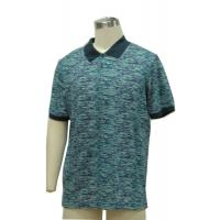 Buy cheap Fitted Mens Patterned Polo Shirts , Classic Polo Solid Color T Shirts 100% Cotton Slub Yarn from wholesalers