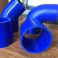 Buy cheap Silicone Hose reinforce Straight/Reducer Coupler/45&90Elbow/Vaccume Hose ID:8mm-127mm from wholesalers