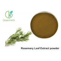 Buy cheap 5% Rosmarinic Acid Rosemary Leaf Extract Powder Brown Yellow Color from wholesalers