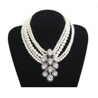Buy cheap New Fashion choker Chunky bead pearl necklaces Short Woman Luxury Jewelry from wholesalers