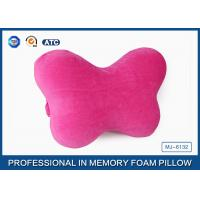 Buy cheap Car Headrest Memory Foam Car Neck Pillow With Washable Microfiber Pillowcase from wholesalers