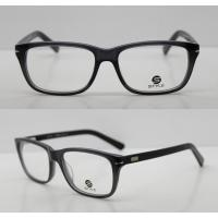 Buy cheap Lightweight Classic Acetate Glasses Frames For Men / Women To Protect Eyes product