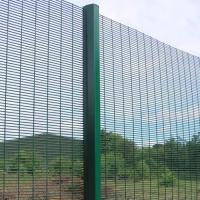 Buy cheap 358 Safety Welded Mesh Fence , Welded Metal Fence Panels Powder Coated from wholesalers