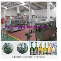 Buy cheap automatic beer glass bottle filling machine from wholesalers