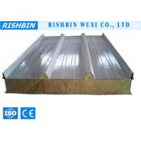 Buy cheap Prepainted Galvanized Steel Rock Wool Sandwich Roll Forming Products from wholesalers