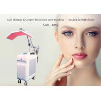 Buy cheap Skin Care Oxygen Facial Treatment Machine , Oxygen Peeling Led Light Therapy Machine from wholesalers