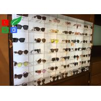 Illuminated LED Shop Display DC 12V Sunglasses LED Display With Acrylic Case Built - In