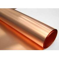 Low Profile ED Copper Foil More Than 0.8 N / Mm Peel Strength High Purity
