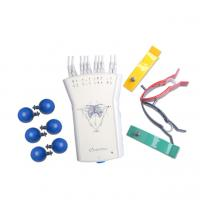 Buy cheap White Grey Portable ECG Recorder 12 - Lead Resting ECG Handle With Analysis Software product
