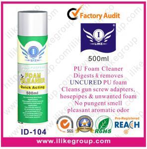 Multifunctional Pu Foam Cleaner For Windscreen Glass