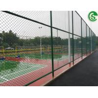 Buy cheap Heavy duty used chain link fencing design basketball court fence from wholesalers