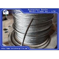 Buy cheap 7X7 Stainless Steel Wire Rope Cable For Railing , Decking , DIY Balustrade from wholesalers
