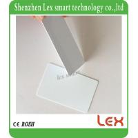 Buy cheap best white cards 13.56Mhz MF S50 Proximity IC Smart Card Tag 0.8mm Thin For Access Control System ISO14443A from wholesalers