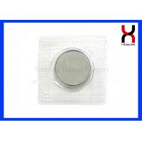 Buy cheap Strong Invisible Magnetic Snaps , 18*3MM / 20*3MM Winter Leather Clothes Sew In Magnets from wholesalers