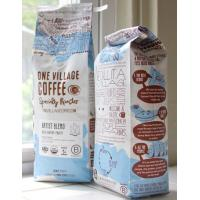 Buy cheap pillow style plastic laminated with aluminum Coffee Packaging Bags from wholesalers