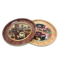 Buy cheap premium round serving tin trays product