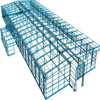 Buy cheap Prefab Portable Steel Frame Workshop Buildings With Light Steel Structure from wholesalers