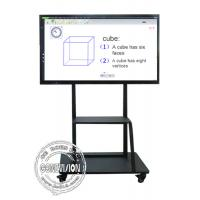 Buy cheap Shool Meeting Room 86 Inch 3840*2160 4K Electronic IR Interactive Touch Screen Smart Whiteboard from wholesalers