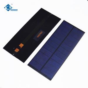 Buy cheap Customized Epoxy Resin Solar Panel for cute sunlight solar toys 2.2W Peak Power ZW-188785 5V Mini Solar Panel product