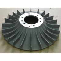 Buy cheap ASTM Precision Machining Services Cast Iron Impeller With Powder Coating from wholesalers