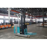 Buy cheap Blue Electric Reach Truck With Head Lamp , Narrow Aisle Reach Truck Forklift from wholesalers