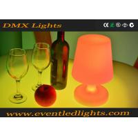 Buy cheap Indoor RGB Cordless LED Table Lamp For Bar / KTV / Wedding , Battery Operated from wholesalers