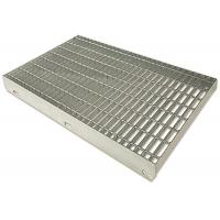 Durable Stainless Steel Bar Grating For Platform Standard Plain Surfaces