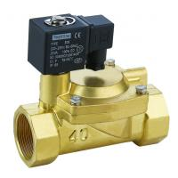 Buy cheap Brass Low Power Solenoid Valve Electric Air Valve Solenoid Direct Acting from wholesalers