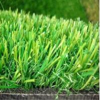 Buy cheap 20MM Height  PP+PE GAUGE 3/8 18 STITCHES Density 13650 3 colors anti-UV High Cost-effective Landscape decoration grass from wholesalers
