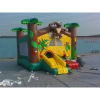 Buy cheap Custom outdoor inflatable jumpers , bouncing house for children Playground / Play Center from wholesalers