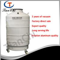 Buy cheap 210 mm Caliber LN2 tanks 100L container used for cryogenic process from wholesalers
