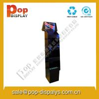 Buy cheap Corrugated Cardboard Floor Display Stands / Store Display Shelf from wholesalers