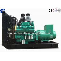 China 800KVA Turbo Charger Cummins Diesel Generator 12 Cylinder Generating on sale